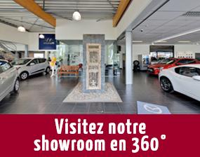 Visitez notre showroom en 360°